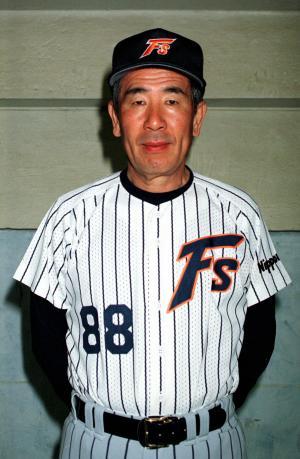 上田利治氏(1997年2月1日撮影)