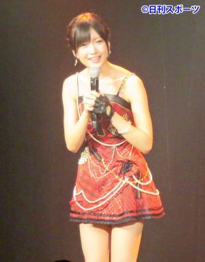 大阪・NMB48劇場のチームN「目撃者」公演に出演した須藤凜々花(撮影・村上久美子)