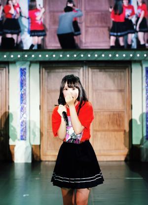 サプライズ登場した前康輔カメラマンが撮影した与田祐希。写真集で実際に使われる可能性もある1枚