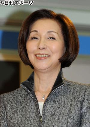 野際陽子さん(13年3月6日撮影)