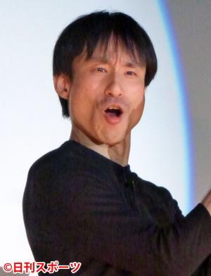 なだぎ武(14年2月5日撮影)
