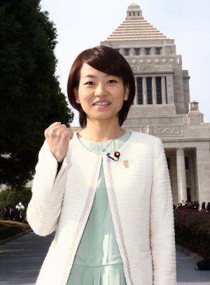 鈴木貴子氏(2014年12月24日撮影)