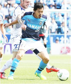 磐田MF松井大輔(写真は2016年5月21日)