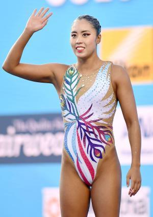 ソロFRの乾友紀子は予選4位「ハートを意識した」 - 水泳 : 日刊スポーツ